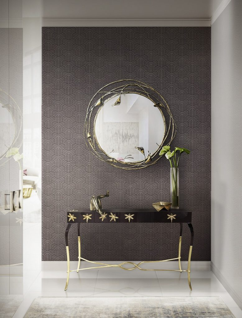 How To Decorate With Mirrors how to decorate the space with wall mirrors