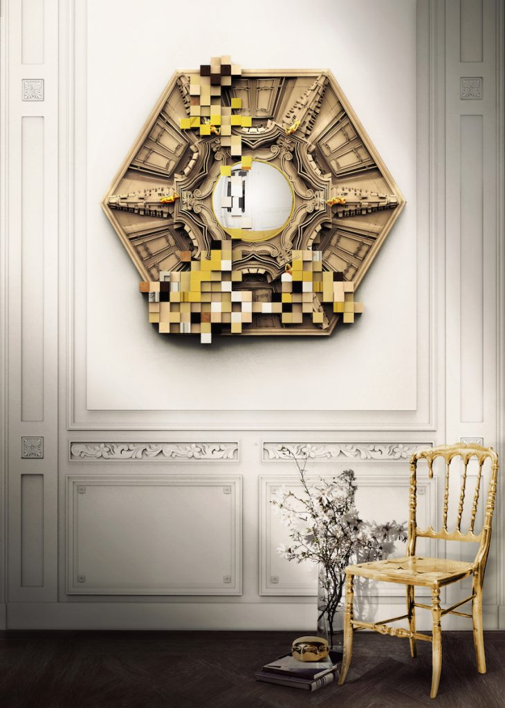 10 Dazzling Wall Mirrors to Embellish Your Home ➤ Discover the season's newest designs and inspirations. Visit us at http://www.wallmirrors.eu #wallmirrors #wallmirrorideas #uniquemirrors @WallMirrorsBlog dazzling wall mirrors 10 Dazzling Wall Mirrors to Embellish Your Home 10 Dazzling Mirrors for Your Home 2
