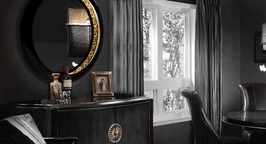 10 Stunning Black Wall Mirror Ideas to Decorate Your Home ➤ Discover the season's newest designs and inspirations. Visit us at http://www.wallmirrors.eu #wallmirrors #wallmirrorideas #uniquemirrors @WallMirrorsBlog black wall mirror 10 Stunning Black Wall Mirror Ideas to Decorate Your Home 10 Stunning Black Wall Mirror Ideas to Decorate Your Home