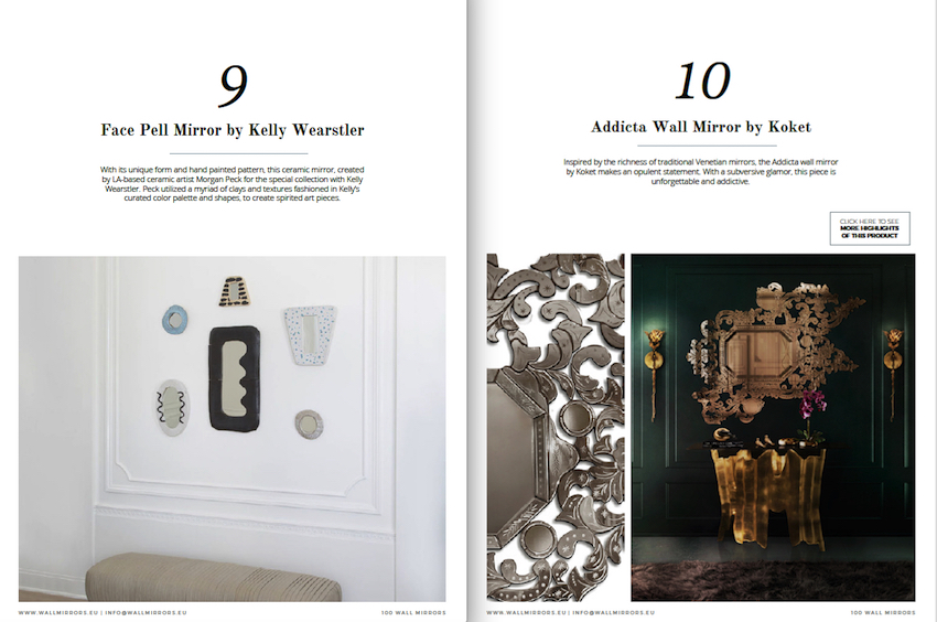 """Get Inspired With the Free e-Book """"100 Must-See Wall Mirror Ideas"""" ➤ Discover the season's newest designs and inspirations. Visit us at http://www.wallmirrors.eu #wallmirrors #wallmirrorideas #uniquemirrors @WallMirrorsBlog 100 must-see wall mirror ideas Get Inspired With the Free e-Book """"100 Must-See Wall Mirror Ideas"""" Get Inspired With the Free e Book by Wall Mirrors 3"""