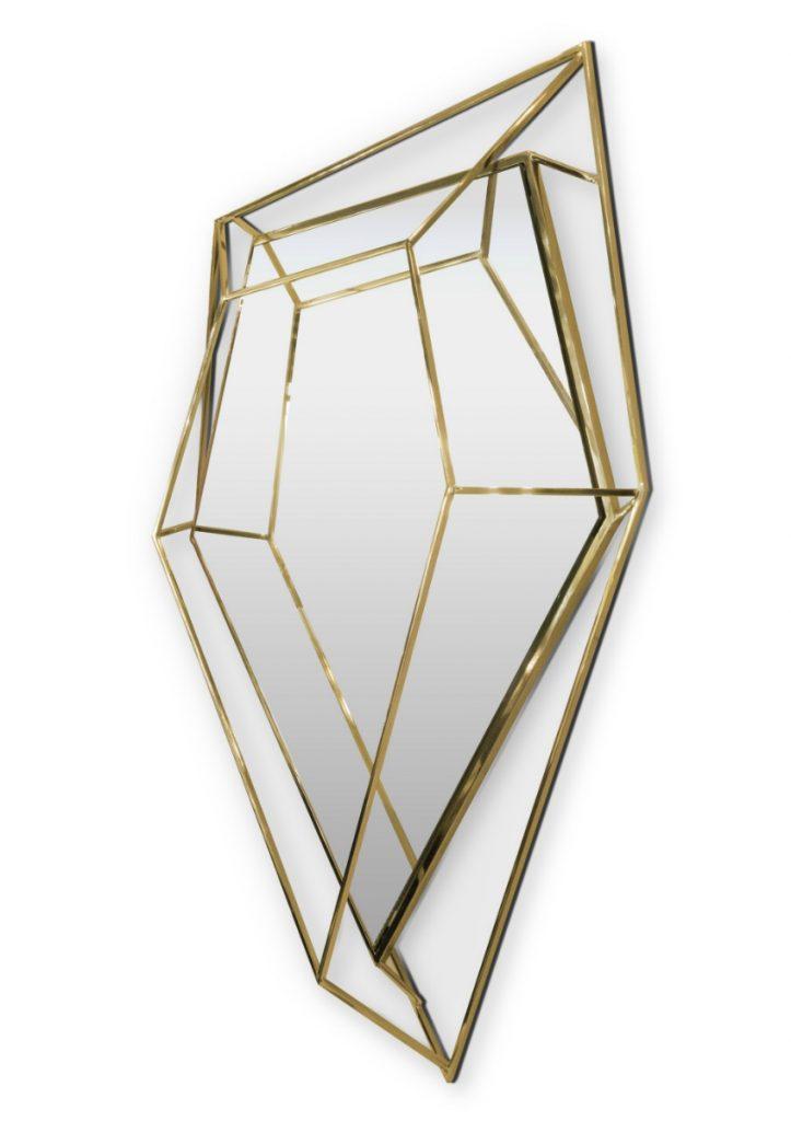 hallway mirror ideas 10 Surprisingly Awesome Hallway Mirror Ideas That You Will Like diamond small mirror 02 HR