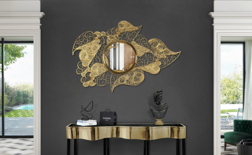 wall mirrors luxury brands Top 9 Wall Mirrors Luxury Brands That You Need to Know filigree mirror hr 01