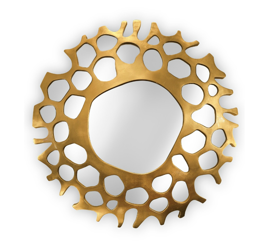 round wall mirrors 9 Dazzling Round Wall Mirrors to Decorate Your Walls helios mirror 1 HR