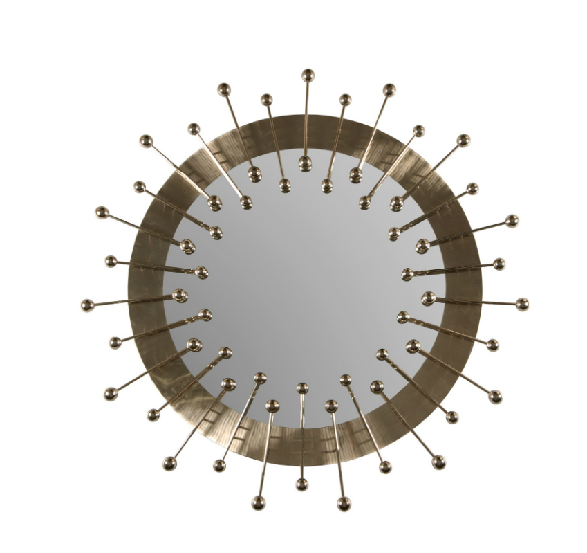 round wall mirrors 9 Dazzling Round Wall Mirrors to Decorate Your Walls quantum mirror 01 EH HR