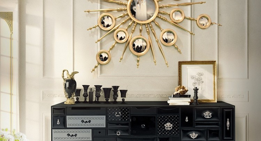 10 Perfect Ways to Combine Sideboards with Wall Mirrors ➤ Discover the season's newest designs and inspirations. Visit us at http://www.wallmirrors.eu #wallmirrors #wallmirrorideas #uniquemirrors @WallMirrorsBlog wall mirrors Perfect Ways to Combine Sideboards with Wall Mirrors 10 Perfect Ways to Combine Sideboards with Wall Mirrors