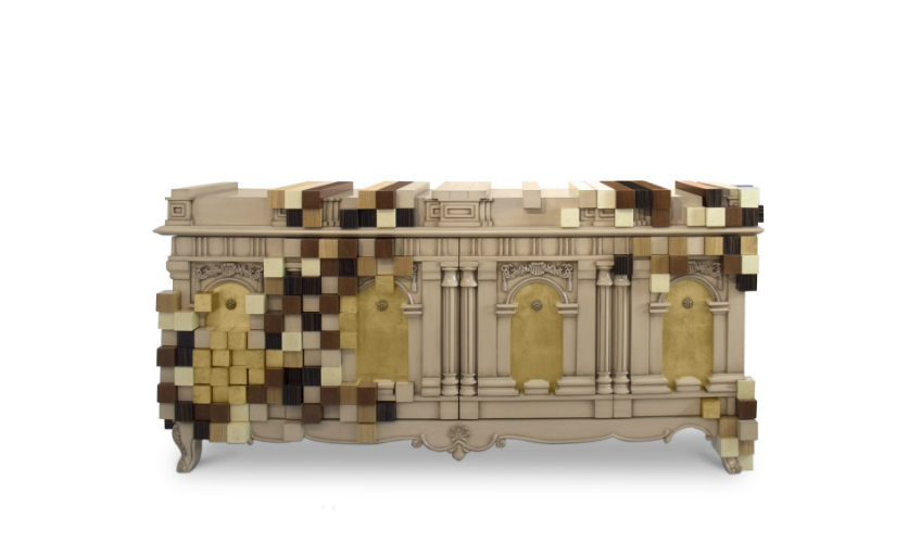 wall mirrors Perfect Ways to Combine Sideboards with Wall Mirrors piccadilly exquisite english sideboard boca do lobo 01