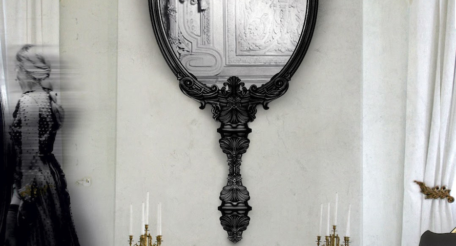5 Stunning Black Wall Mirrors You Will Want to Have ➤ Discover the season's newest designs and inspirations. Visit us at http://www.wallmirrors.eu #wallmirrors #wallmirrorideas #uniquemirrors @WallMirrorsBlog