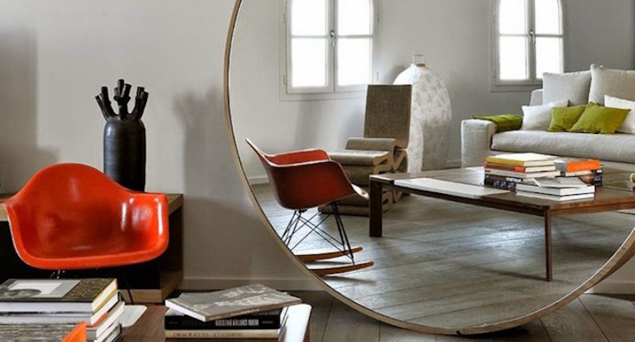 Astonishing Round Wall Mirrors to Glam Up Your Home Décor