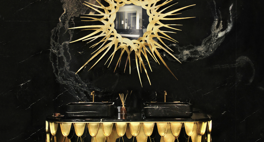 Fabulous Golden Mirrors That Will Be Perfect in Your Home Décor ➤ Discover the season's newest designs and inspirations. Visit us at http://www.wallmirrors.eu #wallmirrors #wallmirrorideas #uniquemirrors @WallMirrorsBlog