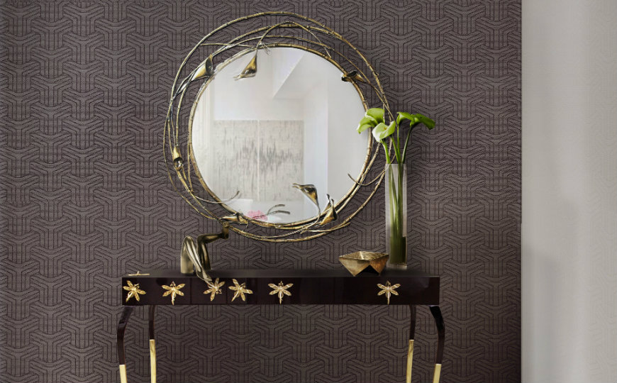 featured round wall mirrors decorating ideas 7 Dazzling Round Wall Mirrors Decorating Ideas to Inspire You featured