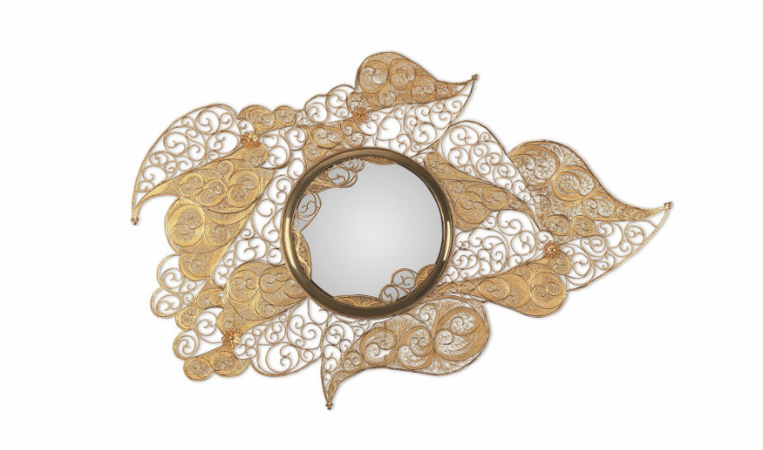 filigree-mirror-01 wall mirrors Fun and Creative Ideas of Wall Mirrors in the Hallway filigree mirror 01 2
