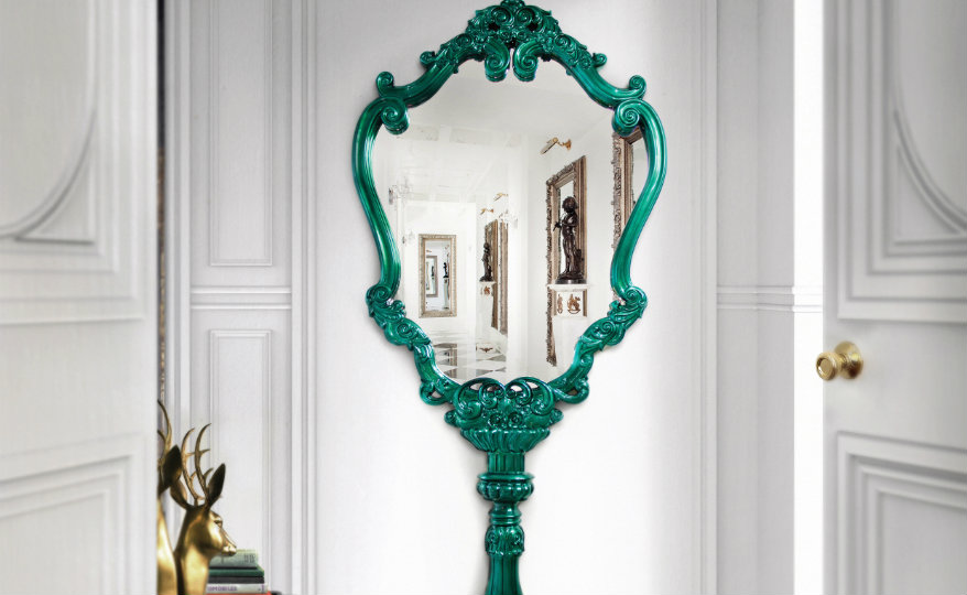 marie-therese-mirror-limited-edition-boca-do-lobo-00 green framed mirrors Unique Green Framed Mirrors for a Cheerful Home Decor marie therese mirror limited edition boca do lobo 00