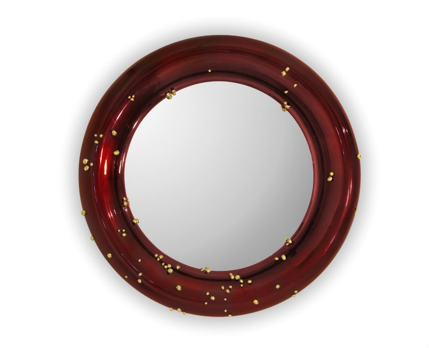 porthole mirrors Decorating Tips to Embellish Your Interiors with Porthole Mirrors belize mirror 1 HR