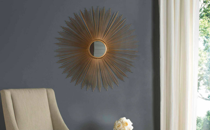 sunburst wall mirrors The Most Unique Sunburst Wall Mirrors You Will Want to Own featured image 3