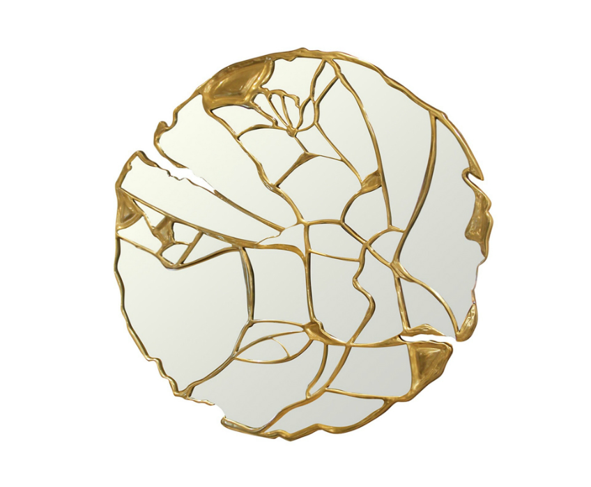 glance-01 campana brothers Visualise the Highly Decorated Kaleidos Mirrors by Campana Brothers glance 01