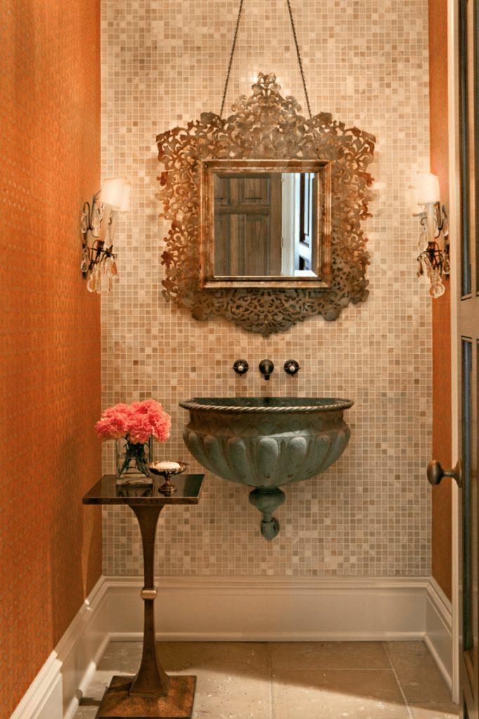 wallmirror1 bathroom decor Personalize Your Bathroom Decor with Fabulous Wall Mirrors wallmirror1