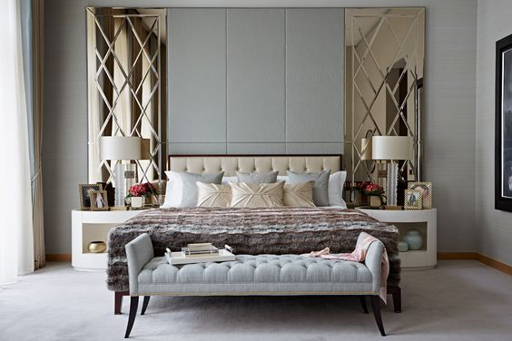 The Best Luxury Mirrors For Contemporary Bedrooms