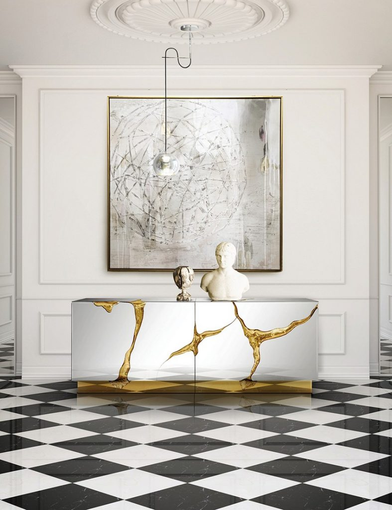 Glamorous-Sideboards-Consoles-Match-Your-Wall-Mirrors-12 Wall Mirrors Glamorous Sideboards and Consoles to Match Your Wall Mirrors Glamorous Sideboards Consoles Match Your Wall Mirrors 12