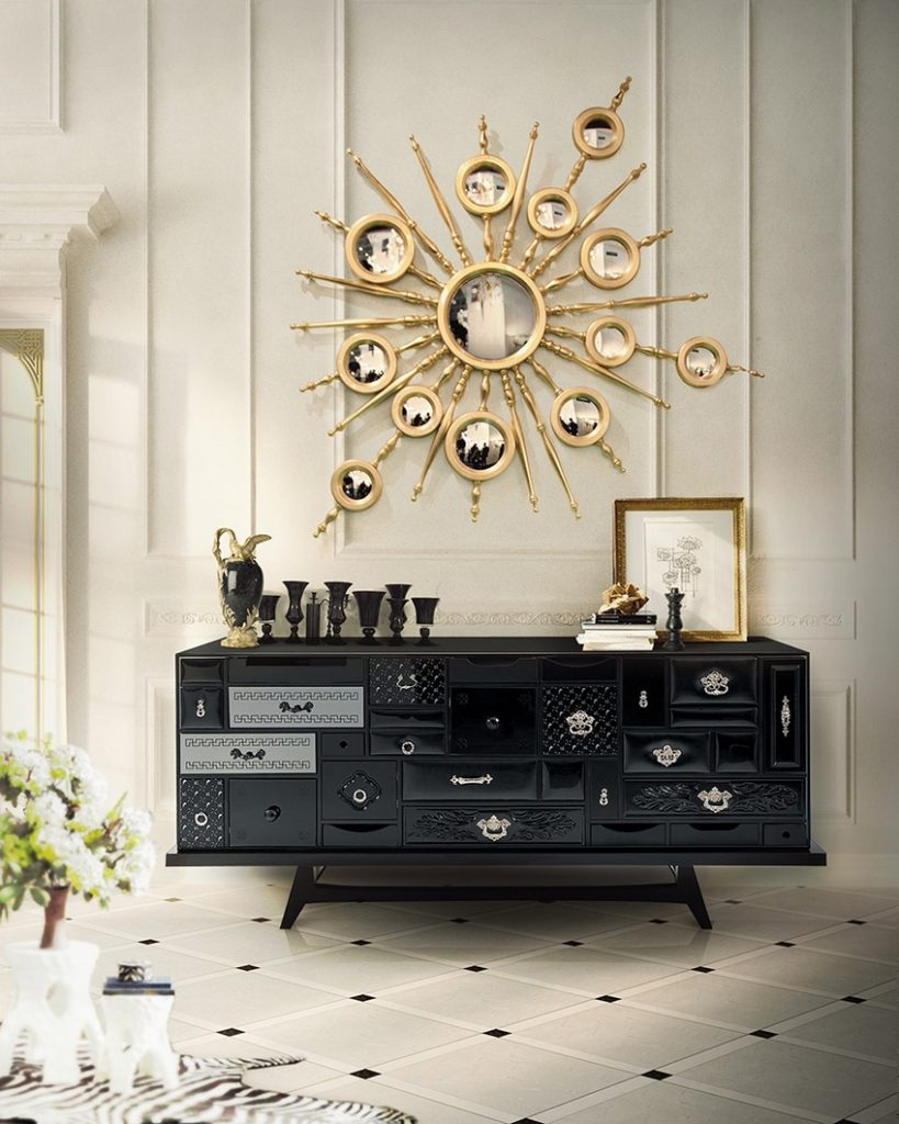 Glamorous-Sideboards-Consoles-Match-Your-Wall-Mirrors-13 Wall Mirrors Glamorous Sideboards and Consoles to Match Your Wall Mirrors Glamorous Sideboards Consoles Match Your Wall Mirrors 13