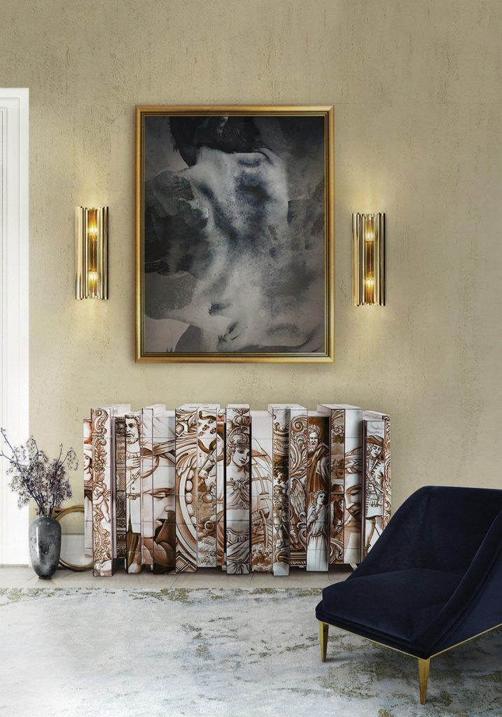 Glamorous-Sideboards-Consoles-Match-Your-Wall-Mirrors-16 Wall Mirrors Glamorous Sideboards and Consoles to Match Your Wall Mirrors Glamorous Sideboards Consoles Match Your Wall Mirrors 16