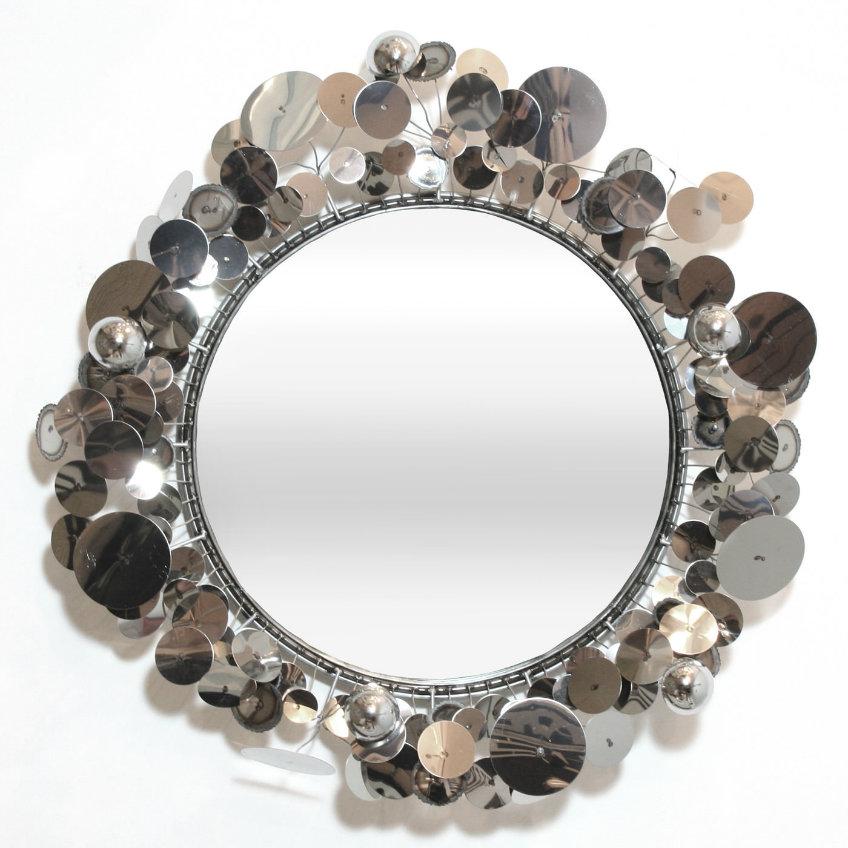 cjere_raindropmirror_silver jonathan adler The Most Extraordinary Wall Mirrors by Jonathan Adler cjere raindropmirror silver