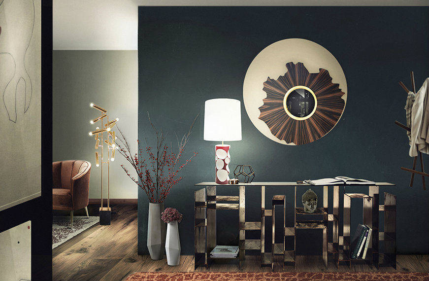 featured Wall Mirrors Glisten Up Your Entrance with these Harmonious Wall Mirrors featured 2