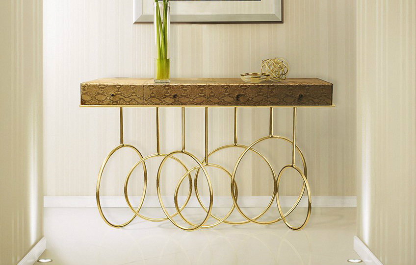 Glamorous Sideboards and Consoles to Match Your Wall Mirrors