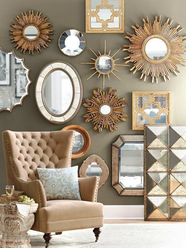 Multiple Mirrors 2 How To Incorporate Into Your Home Decor
