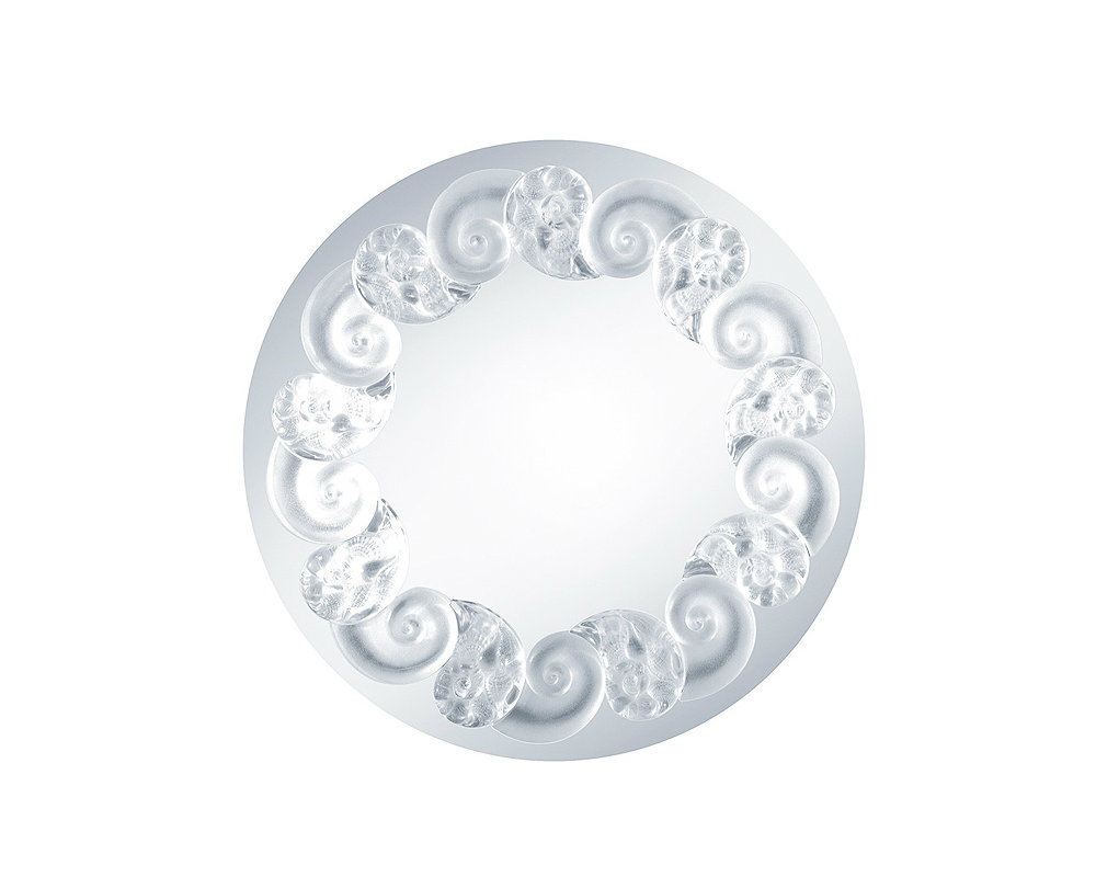 oceania-mirror Lalique The Most Exquisite Wall Mirrors from Luxury Brand Lalique oceania mirror