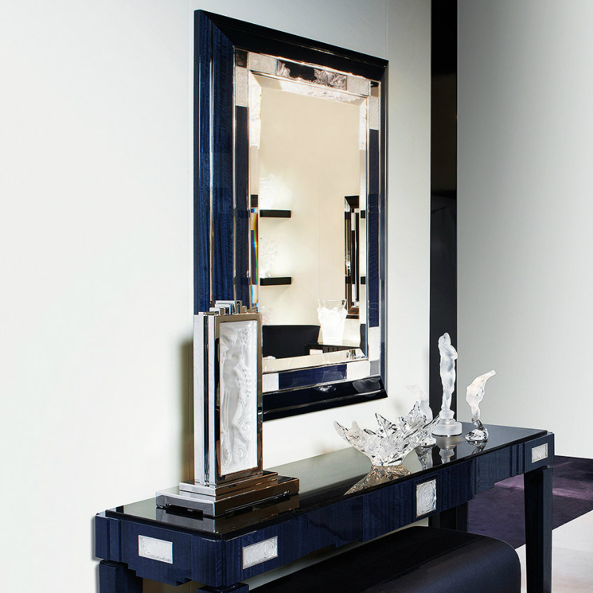 roses-mirror Lalique The Most Exquisite Wall Mirrors from Luxury Brand Lalique roses mirror