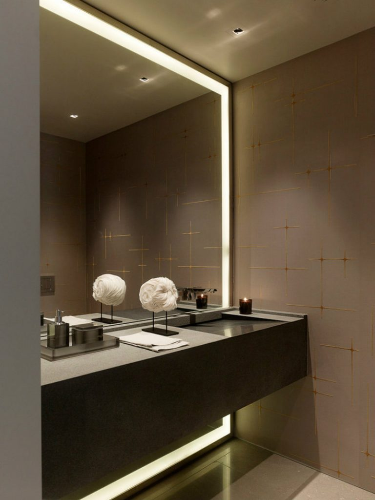 wall mirrors LED Mirrors Contemplate these Functional and Unique LED Mirrors wall mirrors 1