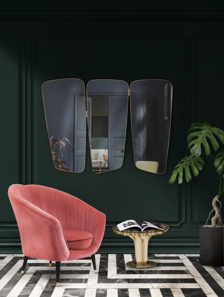 A Curated Exhibition of 25 Wall Mirrors to Die For EH Living Room mar17 2