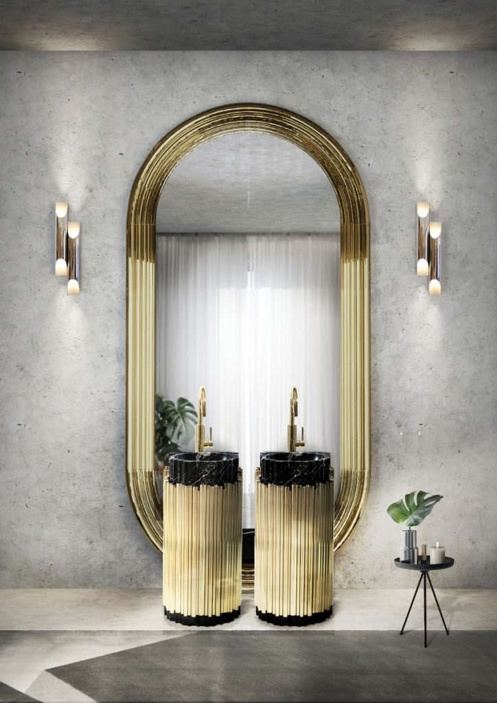A Curated Exhibition of 25 Wall Mirrors to Die For EH Project Tribeca Loft 12