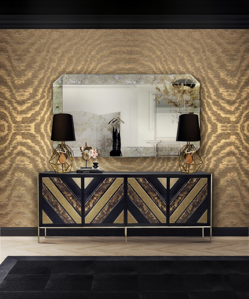 KK Bedroom (8) wall mirrors Opt for the Perfect Furniture Piece to Place Below Your Wall Mirrors KK Bedroom 8