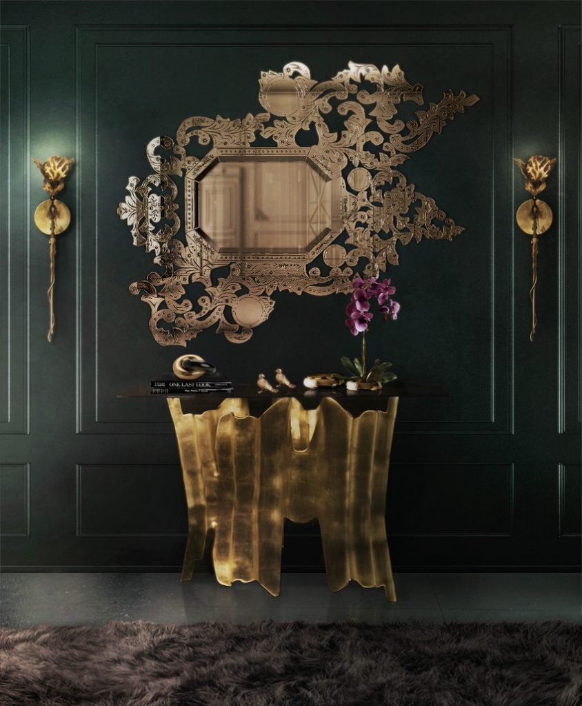 A Curated Exhibition of 25 Wall Mirrors to Die For KK Hall 1