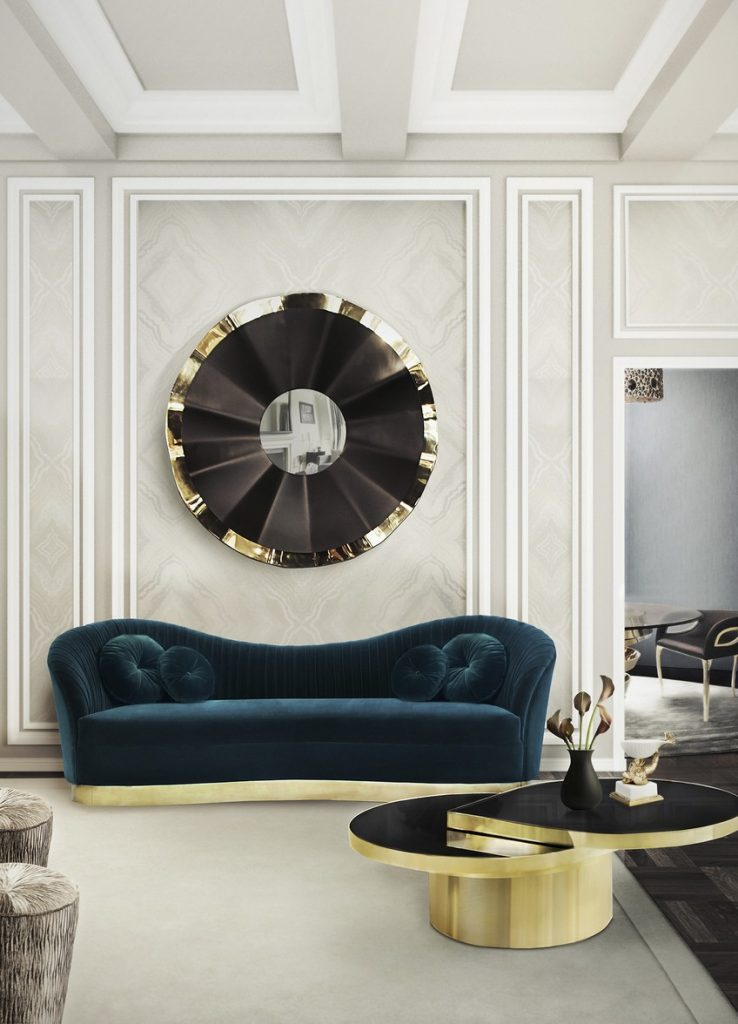 A Curated Exhibition of 25 Wall Mirrors to Die For KK Living Room 15 1