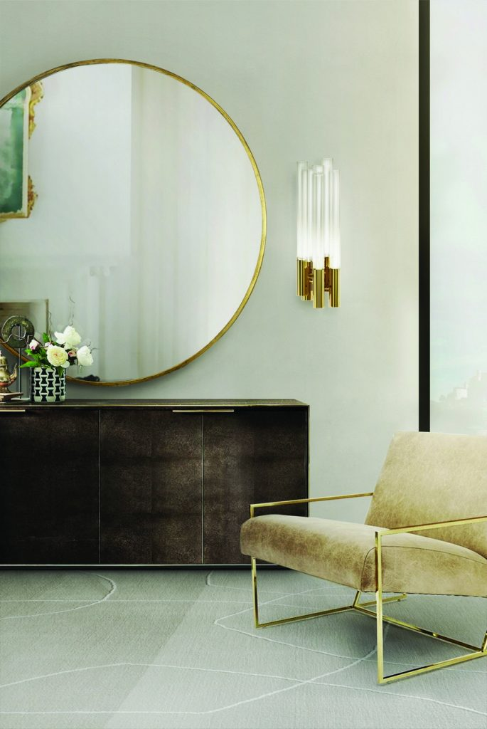 A Curated Exhibition of 25 Wall Mirrors to Die For LX Living Room 15