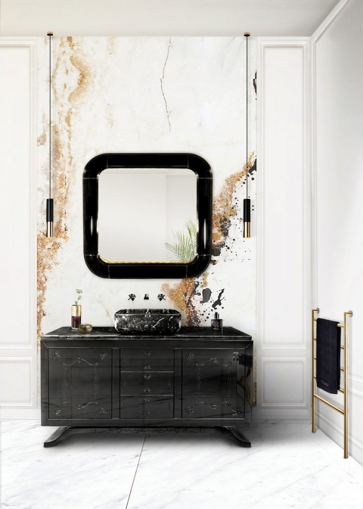 A Curated Exhibition of 25 Wall Mirrors to Die For MV Bathroom 5