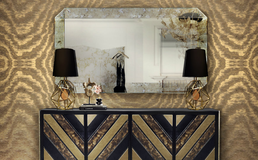 Opt for the Perfect Furniture Piece to Place Below Your Wall Mirrors