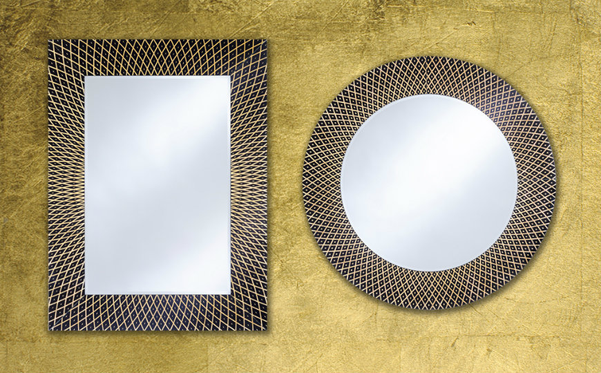 A Stunning New Collection of Wall Mirrors from Deknudt Mirrors