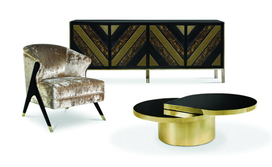 feat Apartment Project Gorgeous Pieces by KOKET in a Manhattan Apartment Project feat