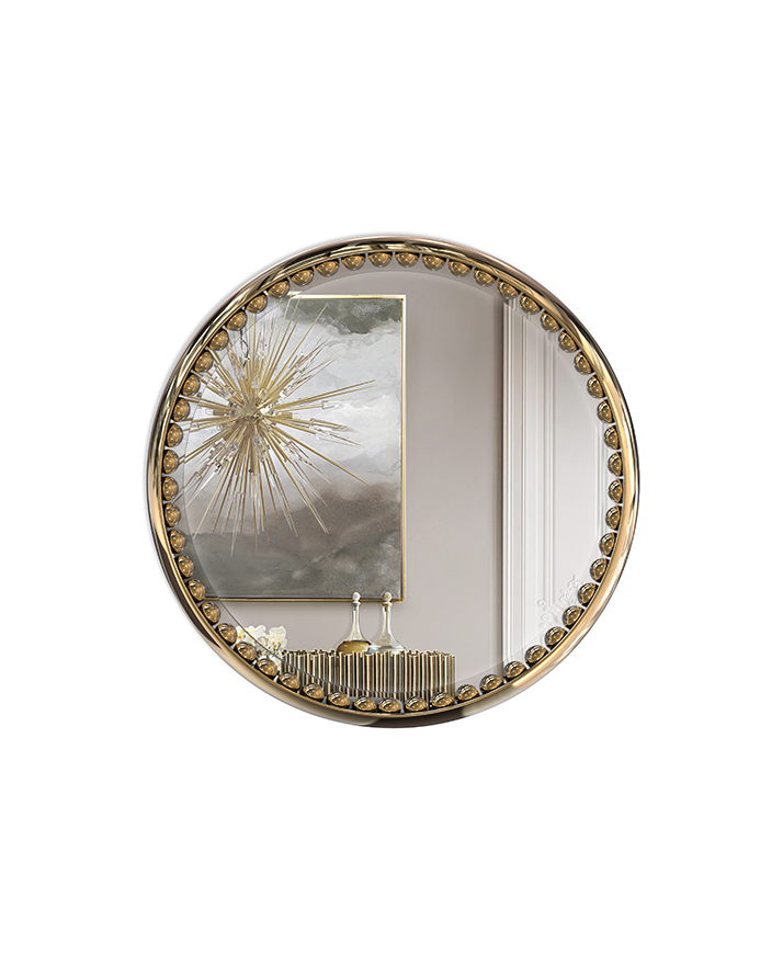 orbis-mirror-01 wall mirrors Wall Mirrors Starling and Exclusive Wall Mirrors from LUXXU orbis mirror 01