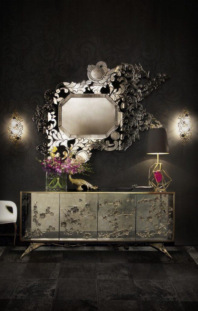 venetian mirrors 25 Astounding and Original Venetian Mirrors KK Hall 2