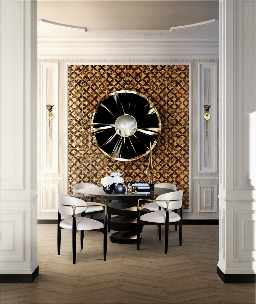 A Wide Variety of Luxurious Wall Mirrors for Home Interiors 13 nahema chair koket projects