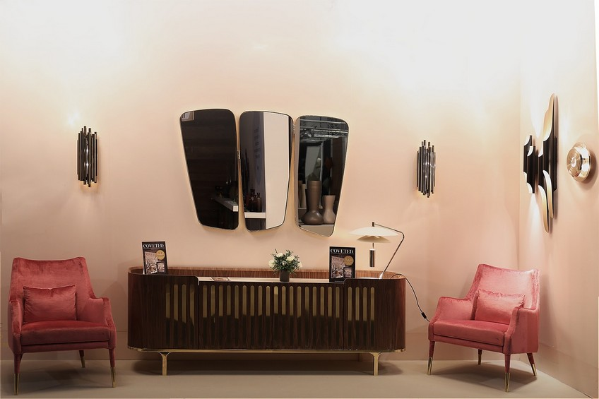 A Wide Variety of Luxurious Wall Mirrors for Home Interiors 17 Essential Home MaisonObjet 2017 Anthony Sideboard Wilde Mirror