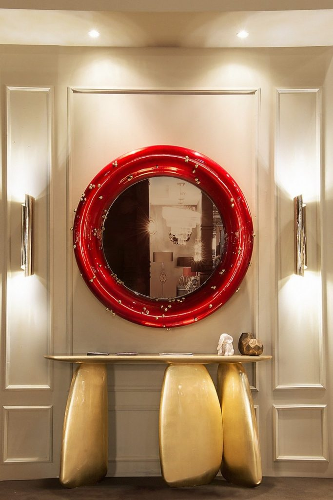 A Wide Variety of Luxurious Wall Mirrors for Home Interiors 4 brabbu maison objet september 2016 9 HR