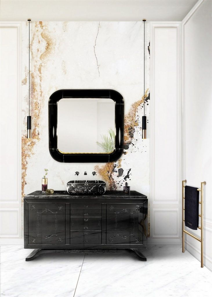 Complement Your Wall Mirrors with Glamorous Lighting Designs 11  Complement Your Wall Mirrors with Glamorous Lighting Designs Complement Your Wall Mirrors with Glamorous Lighting Designs 11