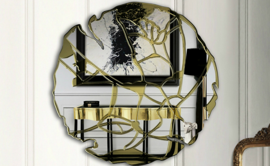foyer mirrors 15 Astonishing Foyer Mirrors for a Welcoming Home featured 12