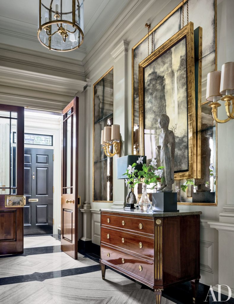 13 Astonishing Foyer Mirrors for a Welcoming Home foyer mirrors 15 Astonishing Foyer Mirrors for a Welcoming Home source architectural digest