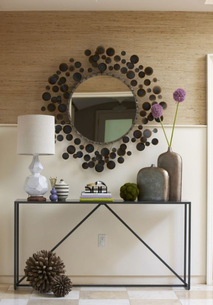 source biantable  15 Astonishing Foyer Mirrors for a Welcoming Home source biantable